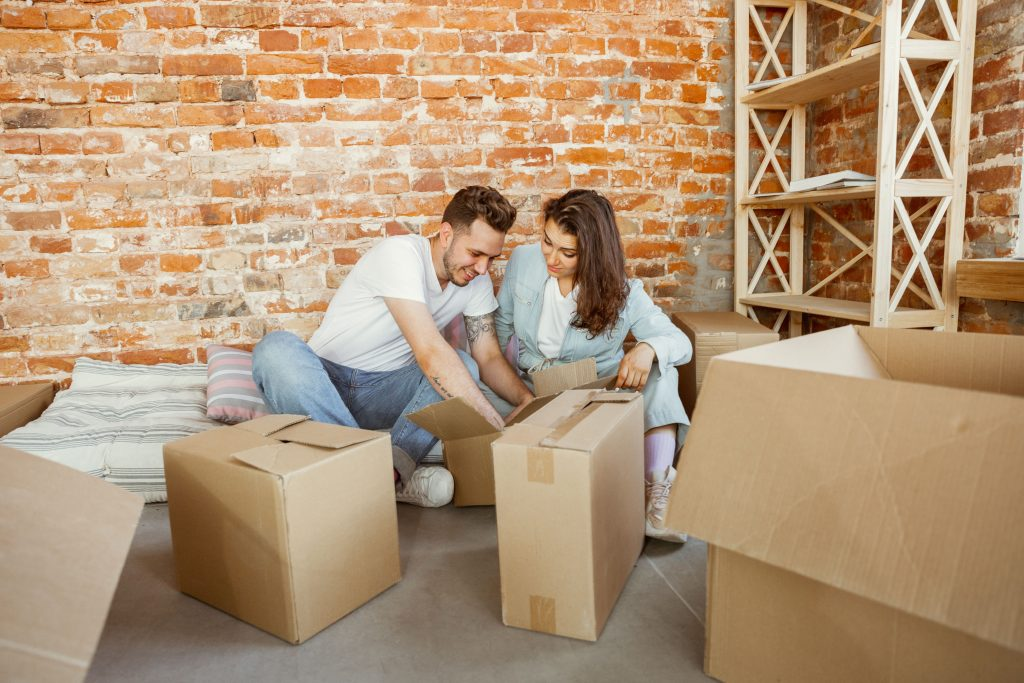 Couple Moving To A New Home